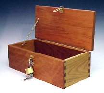 Cherry Treasure Chest