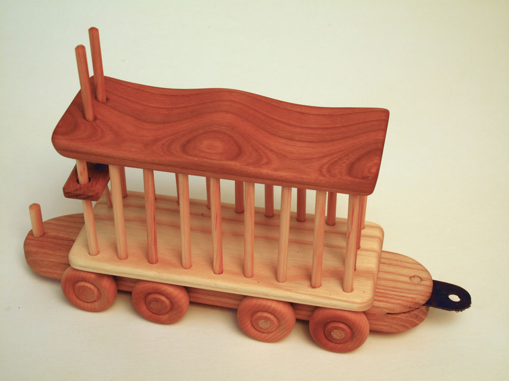 A Wooden Train Toy Of Beautiful Hardwoods | 2017, 2018 ...